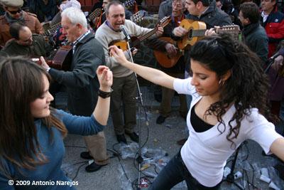 Música y baile con los Aguilanderos de Barranda