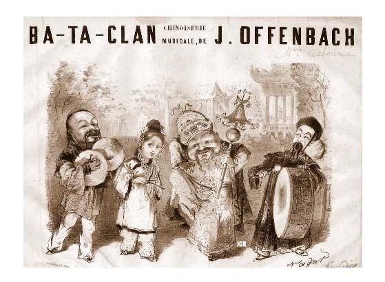 """Ba-ta-clan"", la opereta de Offenbach."