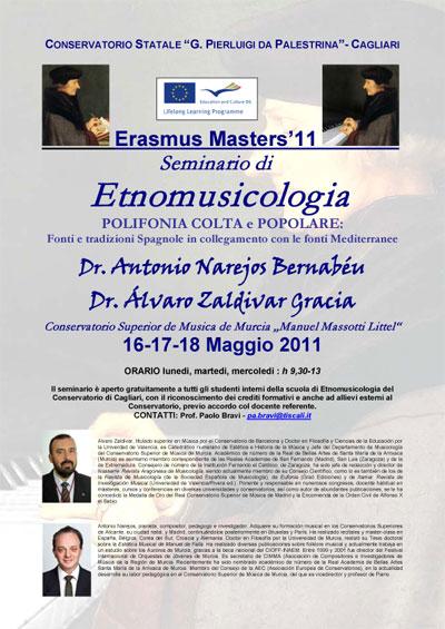 Los cantos de los Auroros de Murcia objeto de estudio en un Seminario celebrado en Italia