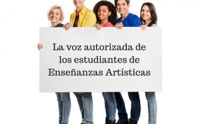 La voz autorizada de los estudiantes de Enseñanzas Artísticas