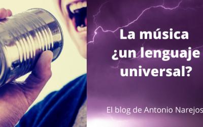 La Música ¿un lenguaje universal?